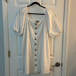 NWT ASOS White Tea Dress